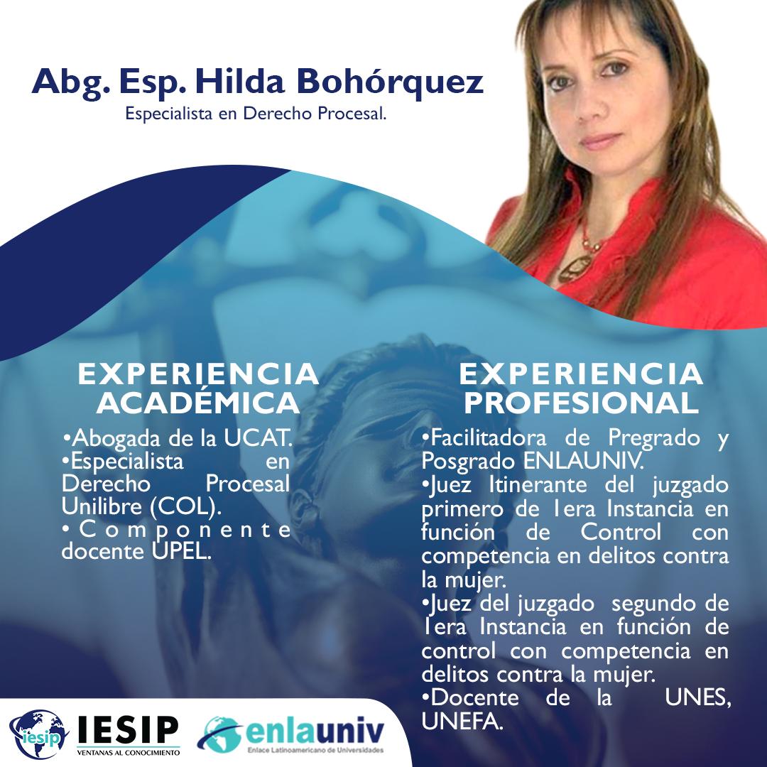 Abog Hilda Bohórquez