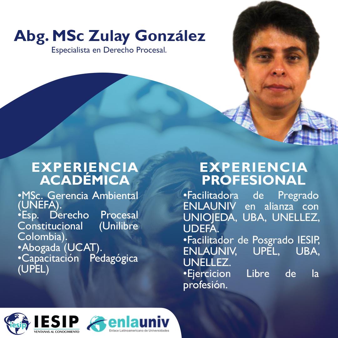 Abog Zulay Gonzalez
