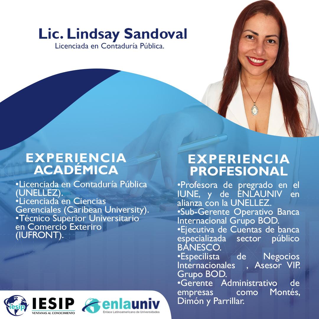 Lic Lindsay Sandoval