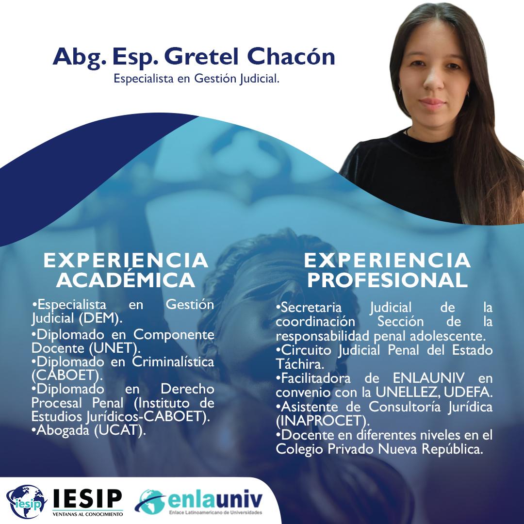 Abog Gretel Chacón