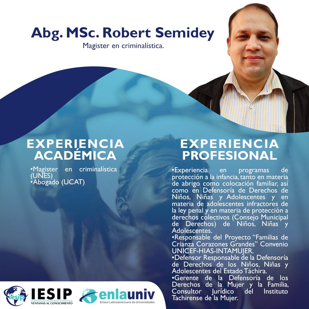 Abog MSc Robert Semidey