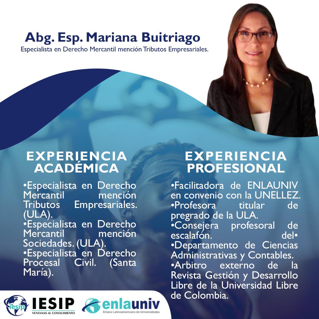 Abog Mariana Buitriago