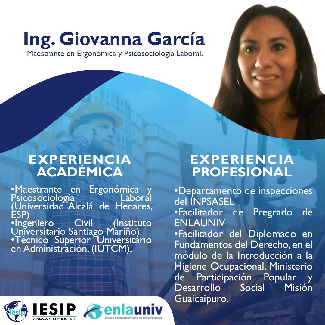 Ing Giovanna García