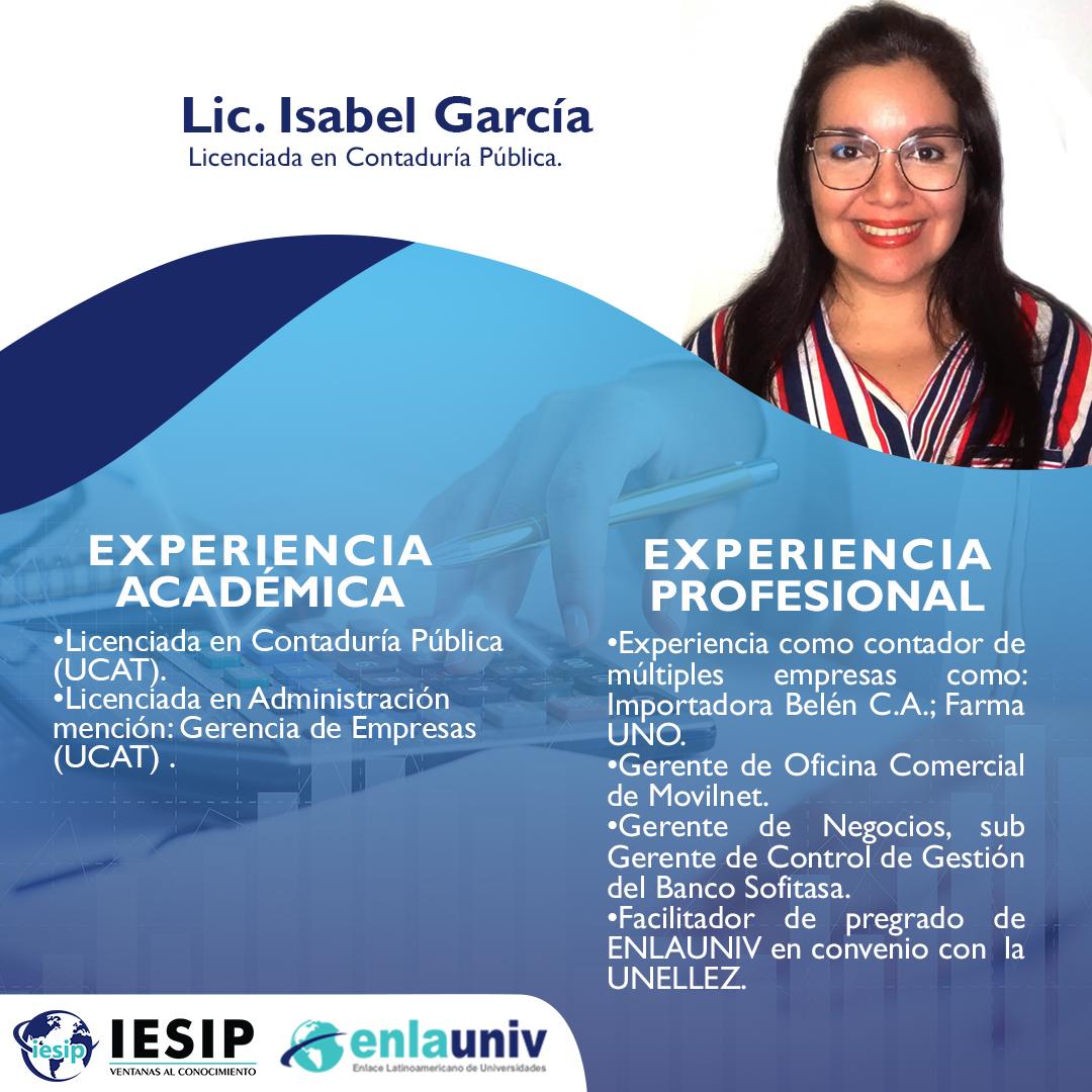 Lic Isabel García