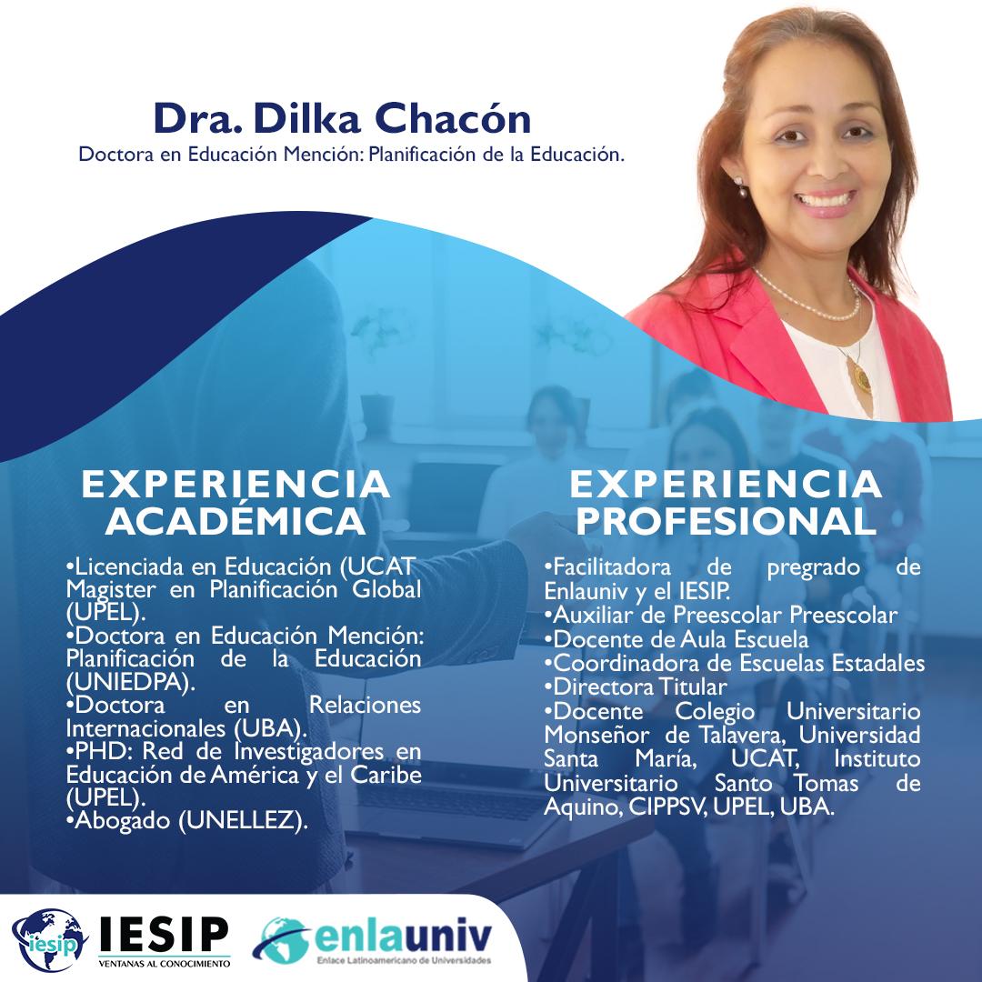 Dra Dilka Chacón