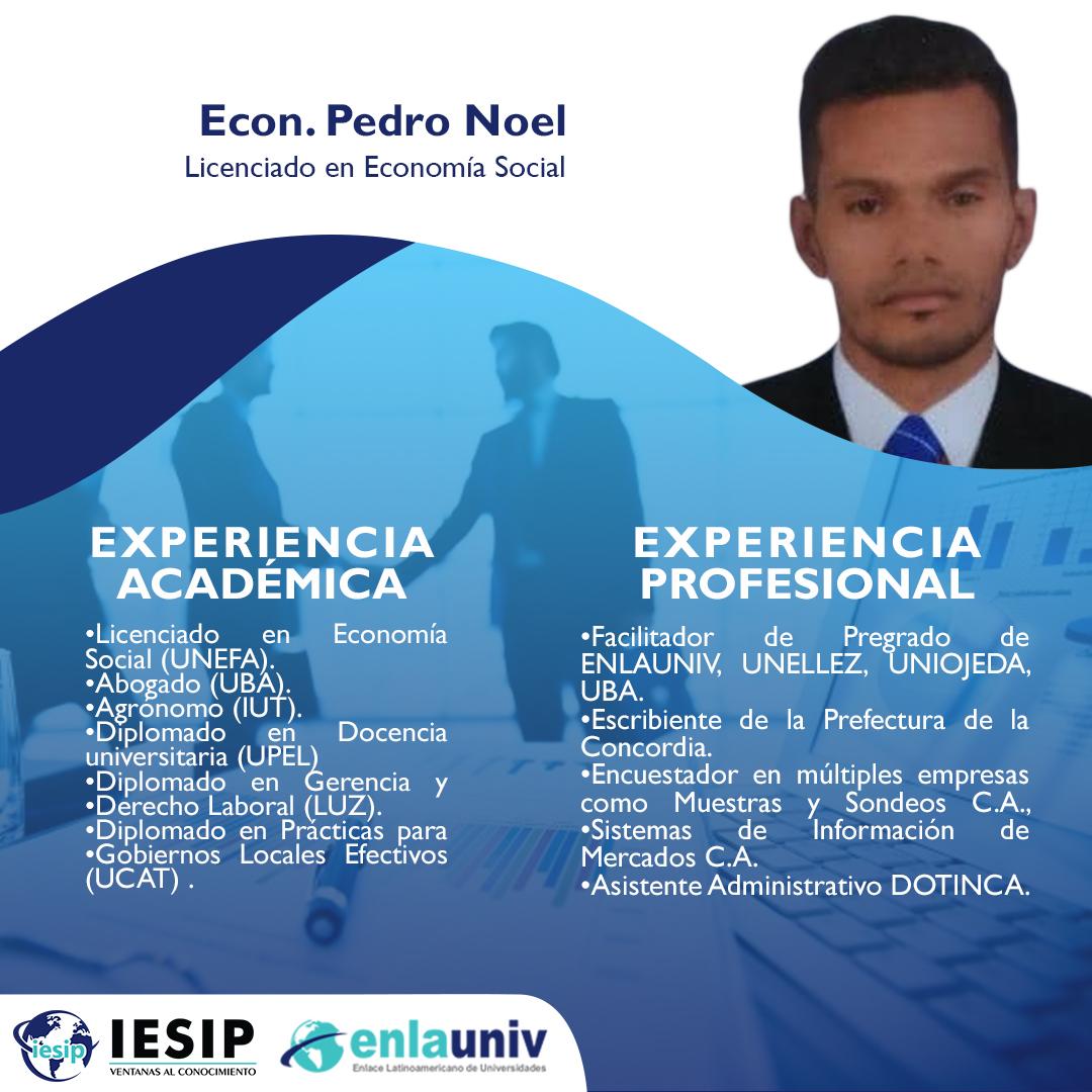 Econ Pedro Noel
