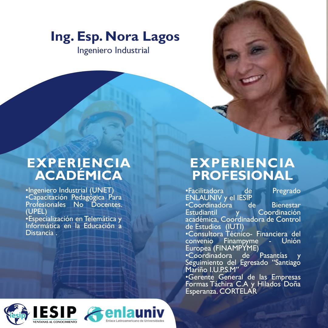 Ing Esp Nora Lagos