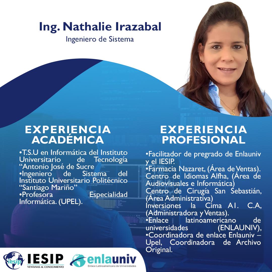 Ing Nathalie Irazabal