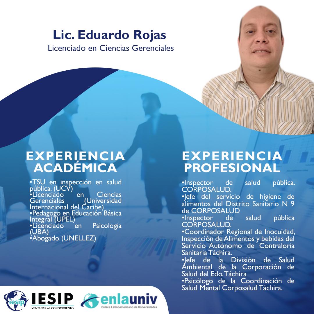 Lic Eduardo Rojas